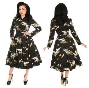 Rockn Roll Kleid Birdie Floral Swing Dress
