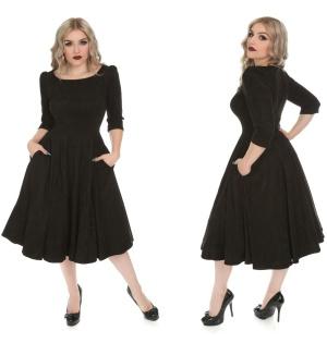 Rock n Roll Kleid schwarz