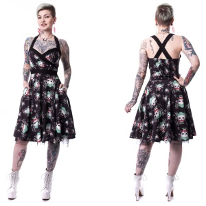 Rockabilly Kleid Joker Haha Dress Suicide Squad
