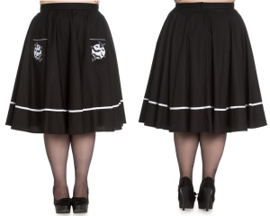 Full Moon Skirt/Rock Fledermaus Hellbunny