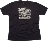 Racing Demon MotorcyclesTshirt Sourpuss
