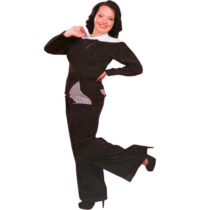 Damen Swing Trouser 40iger Jahre Marlene Hose Miss Candyfloss Miss