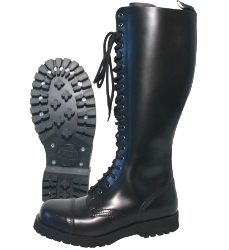boots and braces 20 loch stiefel mit stahlkappe in schwarz boots and braces boots and braces. Black Bedroom Furniture Sets. Home Design Ideas