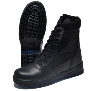 Mc Allister Outdoor Boots Patriot Style in schwarz